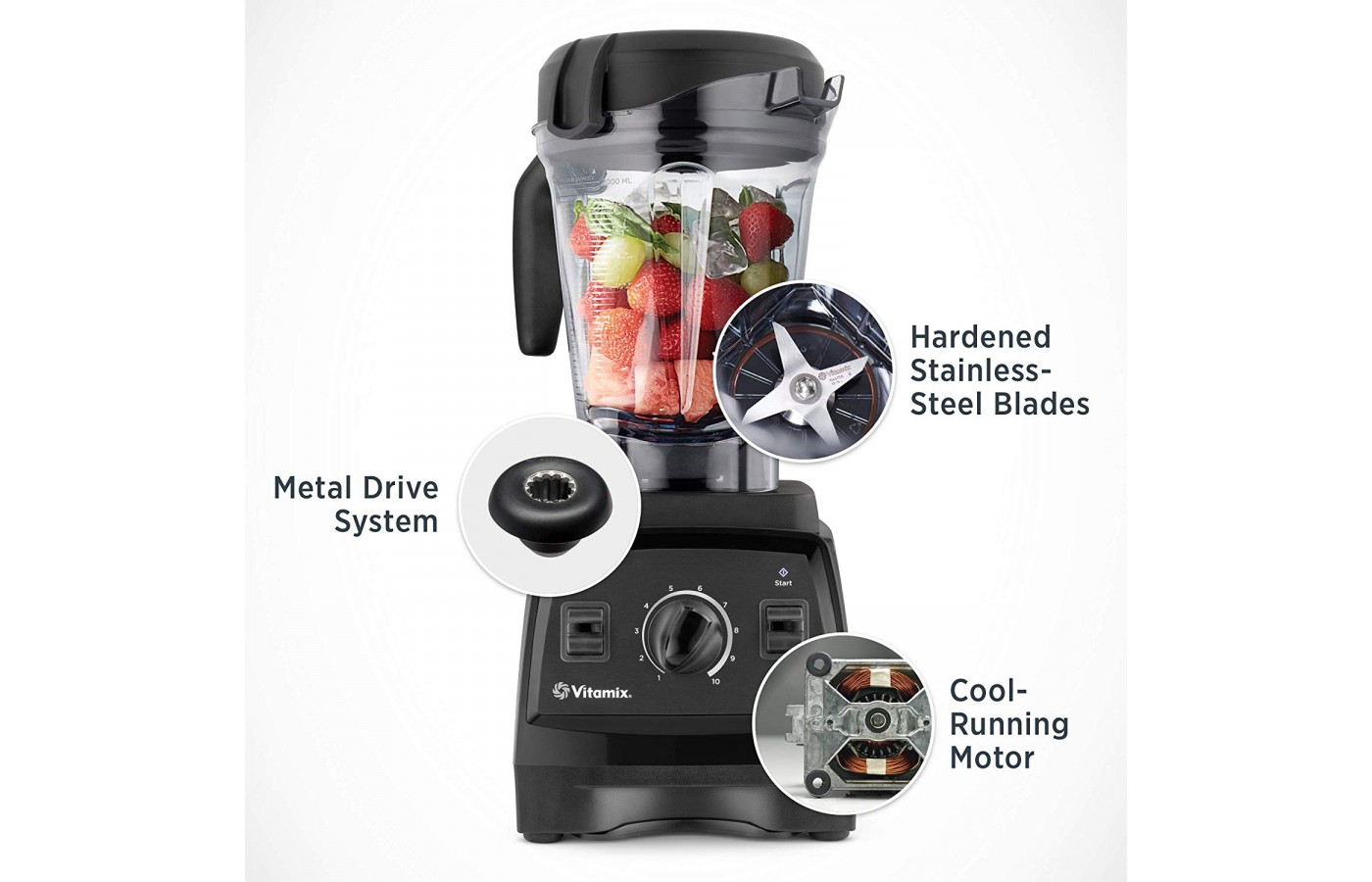 The Blendtec 625 is a powerful and stylish blender designed for home kitchens.