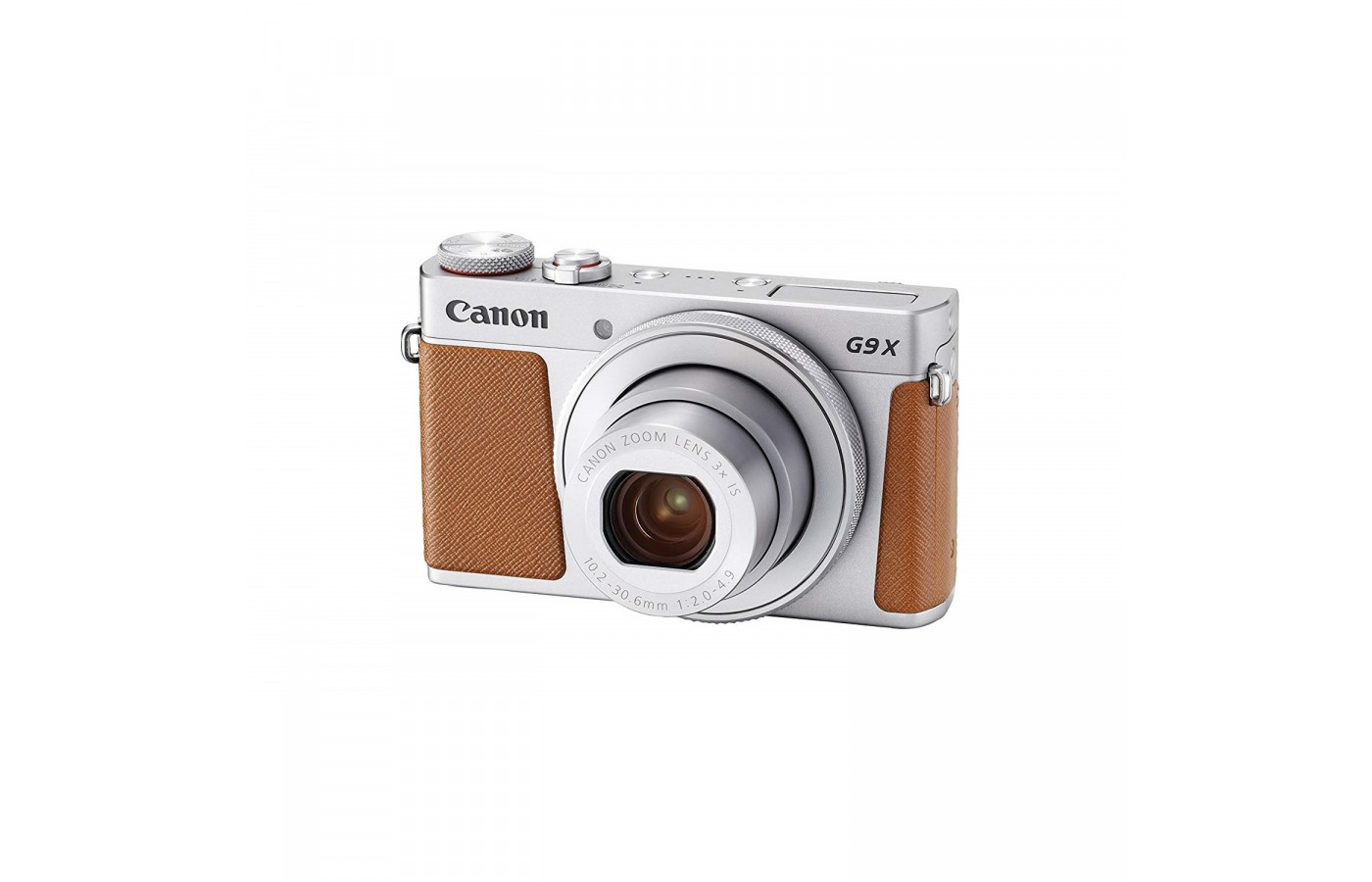 The Canon Powershot G9 X offers a 20 megapixel sensor for capturing high-quality photos.