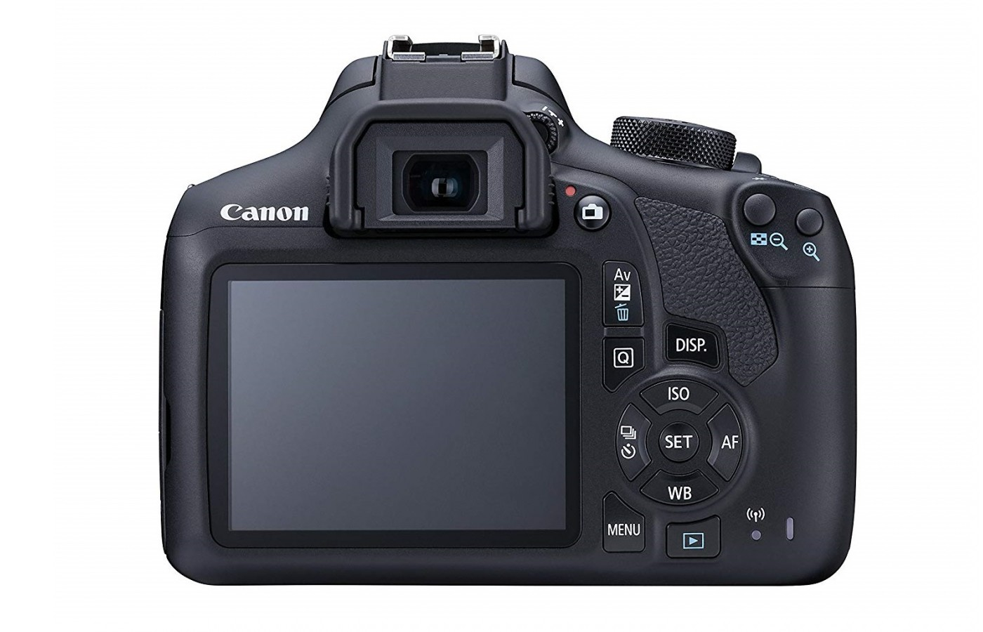 "The Canon EOS 1300D also offers a clear 920K dot resolution 7.5cm (3.0"") LCD screen."