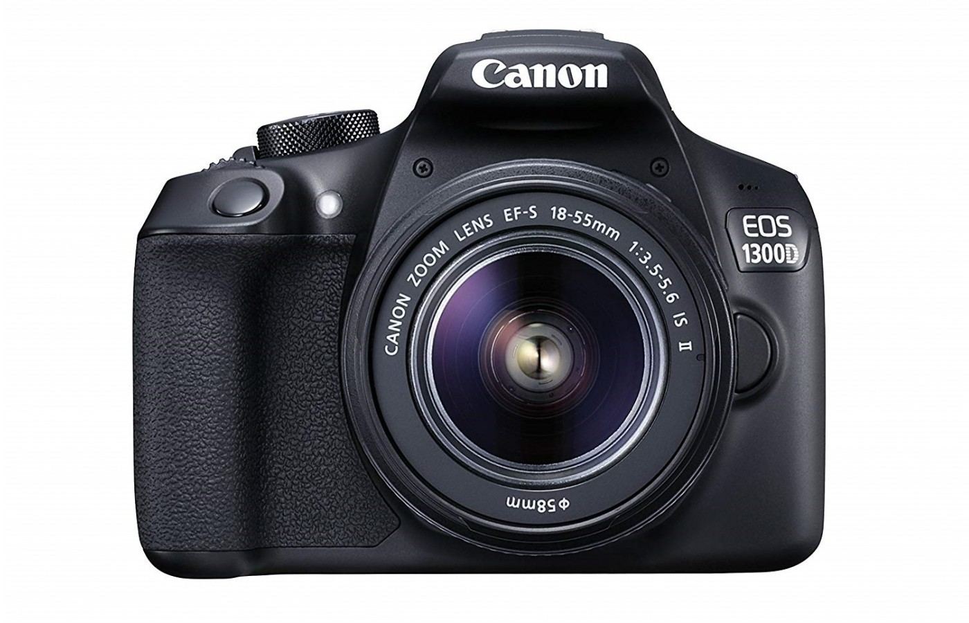 The Canon EOS 1300D offers a megapixel APS-C size sensor for clearer photos.