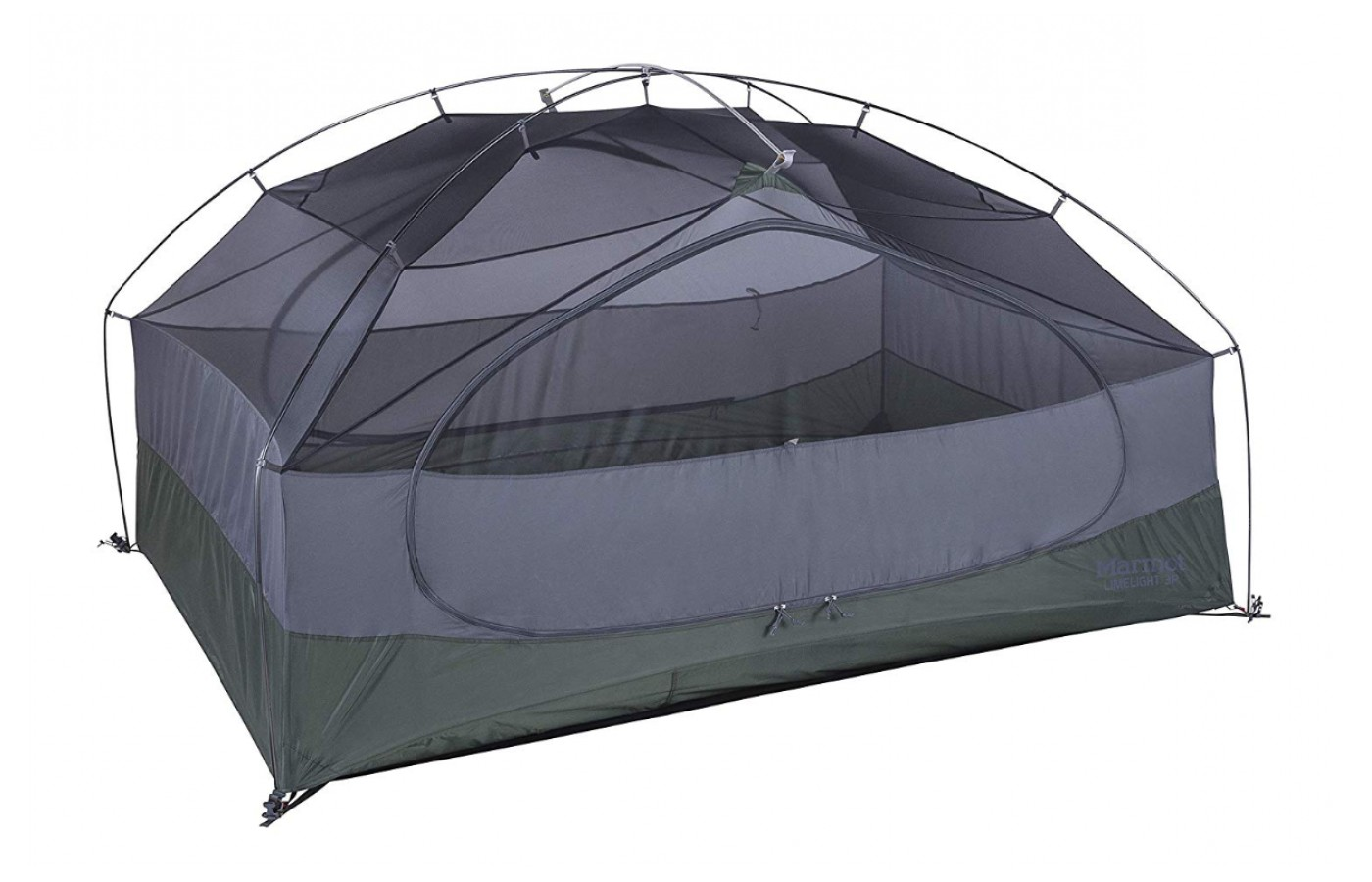 This tent offers a lot of ventilation and a unique rectangular designed bottom.