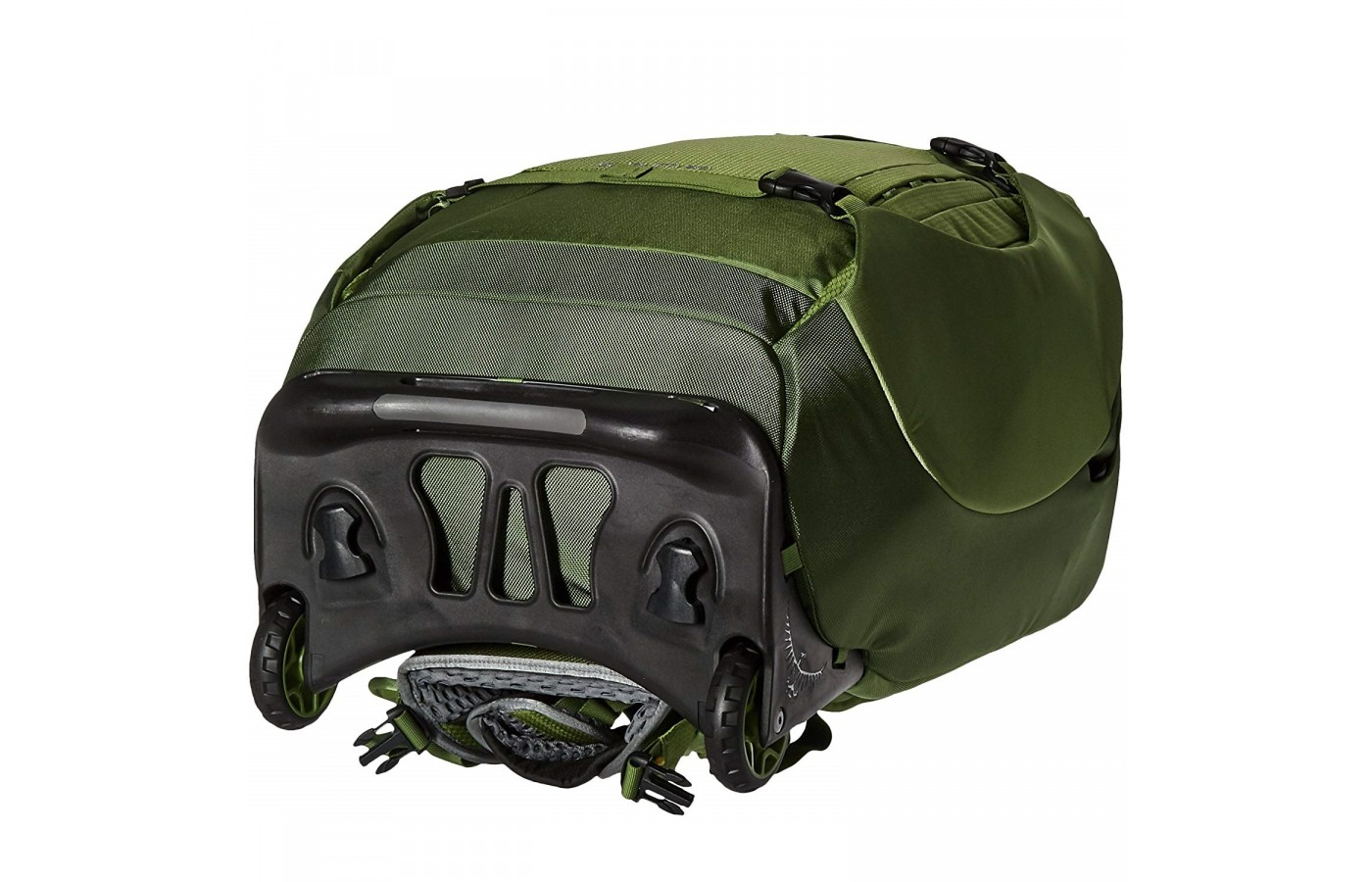 The Osprey Sojourn 80 also offers a 12 inch chassis that helps stabilize larger loads.
