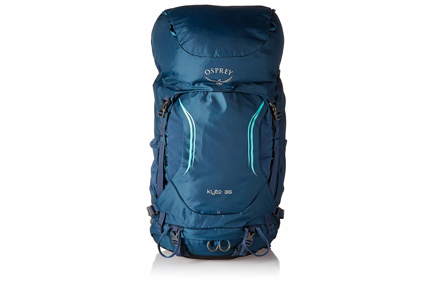 The Osprey Kyte 36 offers a durable design for extended use.