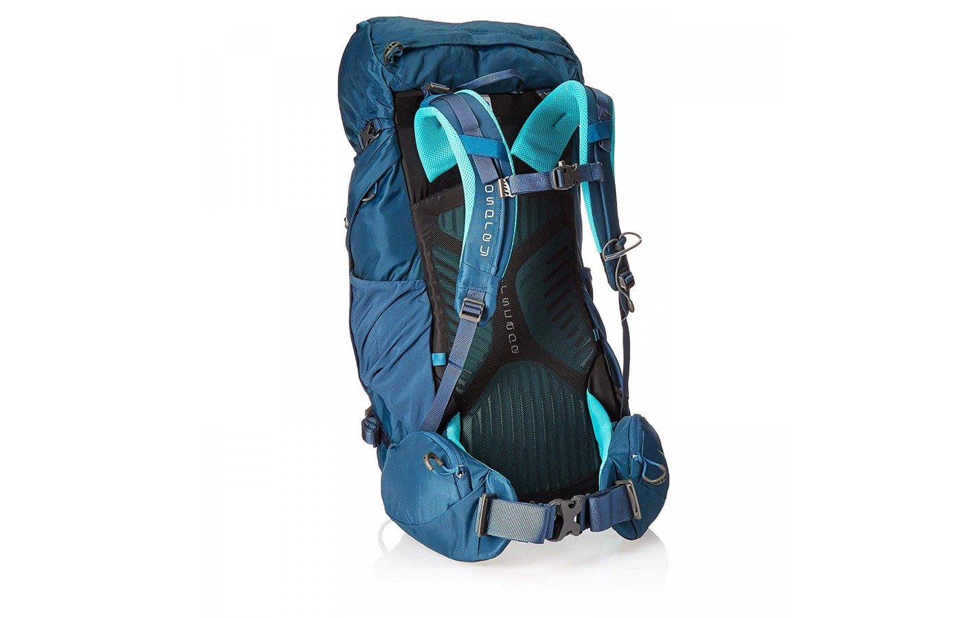The Osprey Kyte 36 has an adjustable harness which allows for a more customized fit.
