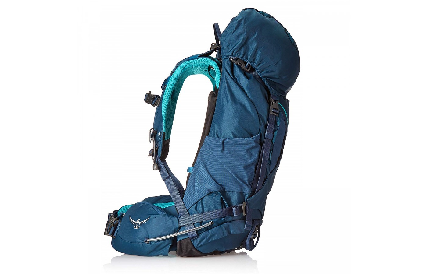 The Osprey Kyte 36 offers an integrated rain cover to protect its contents even when out in the rain.
