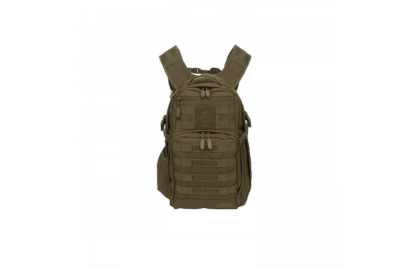 The Sog Ninja Daypack offers numerous external pockets for more organization.