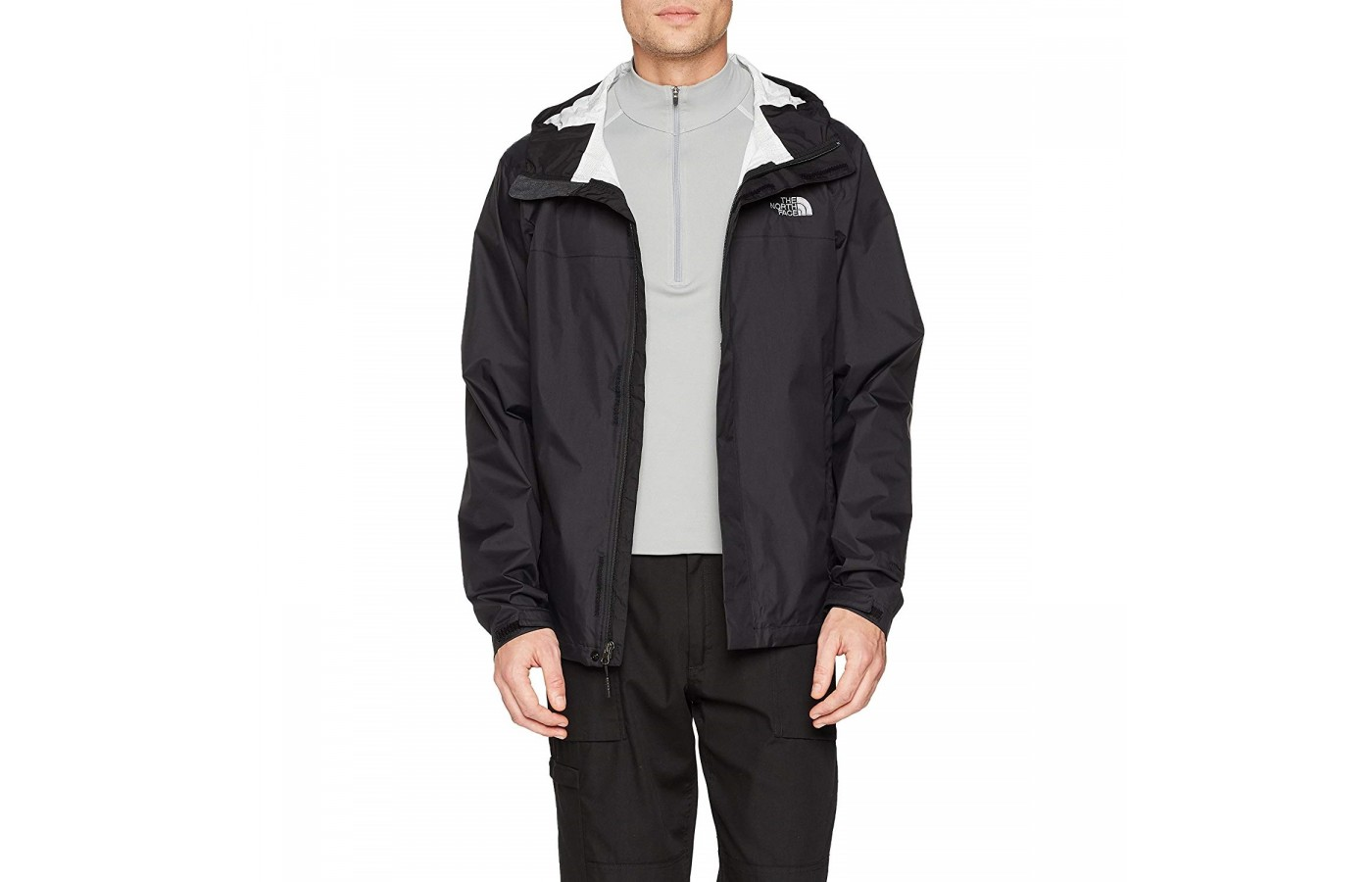 The North Face Venture 2 is unlined and packable making it easy to travel with.