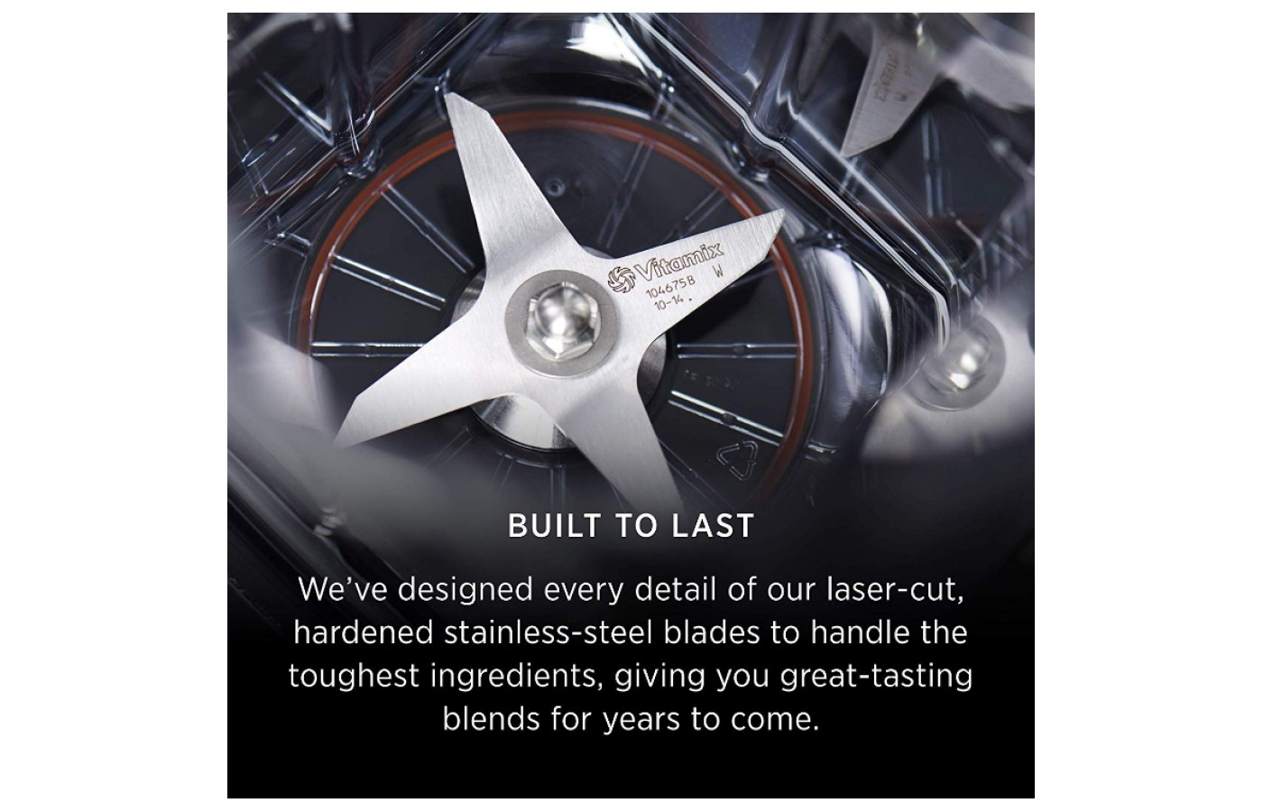 With high grade metal you don't have to worry about your blades wearing out too quickly.