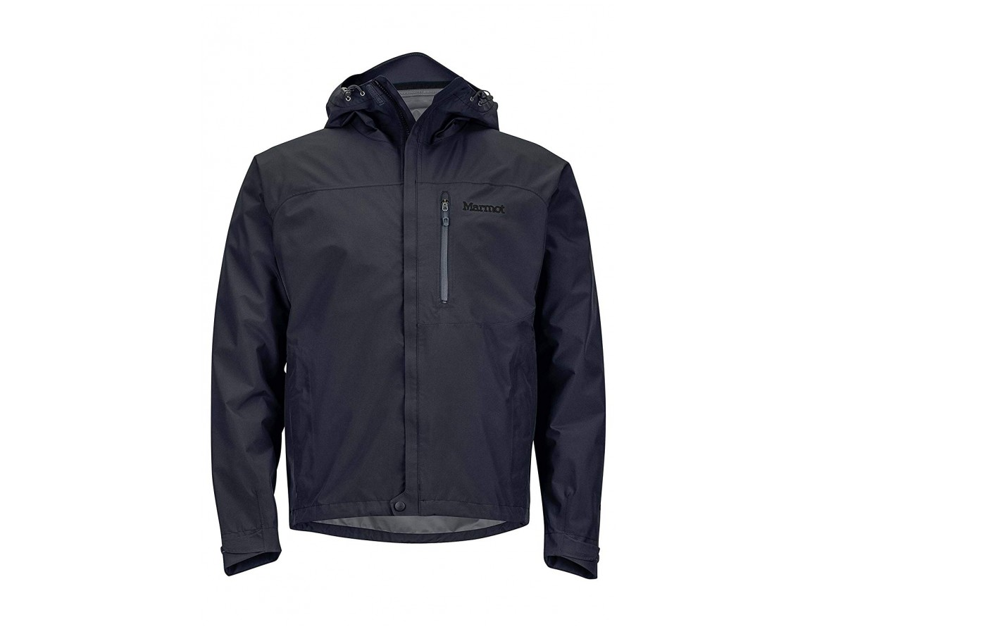 This jacket is comfortable to wear in layers.