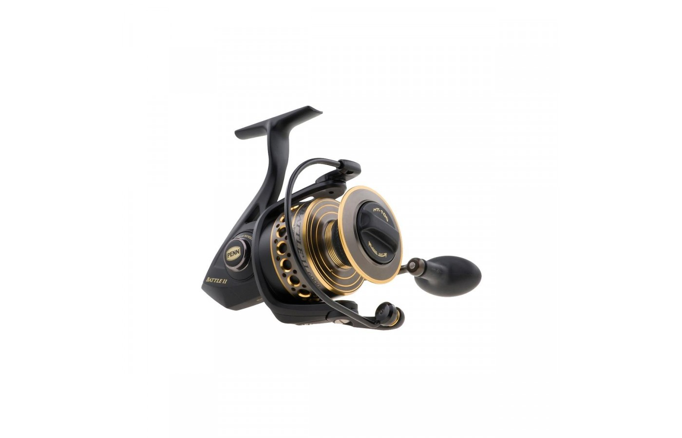 The spinning reel is made out of high-quality materials.