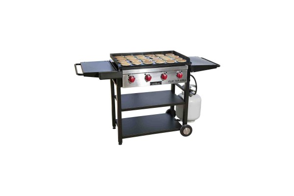 An in-depth review of the Camp Chef Flat Top Grill.