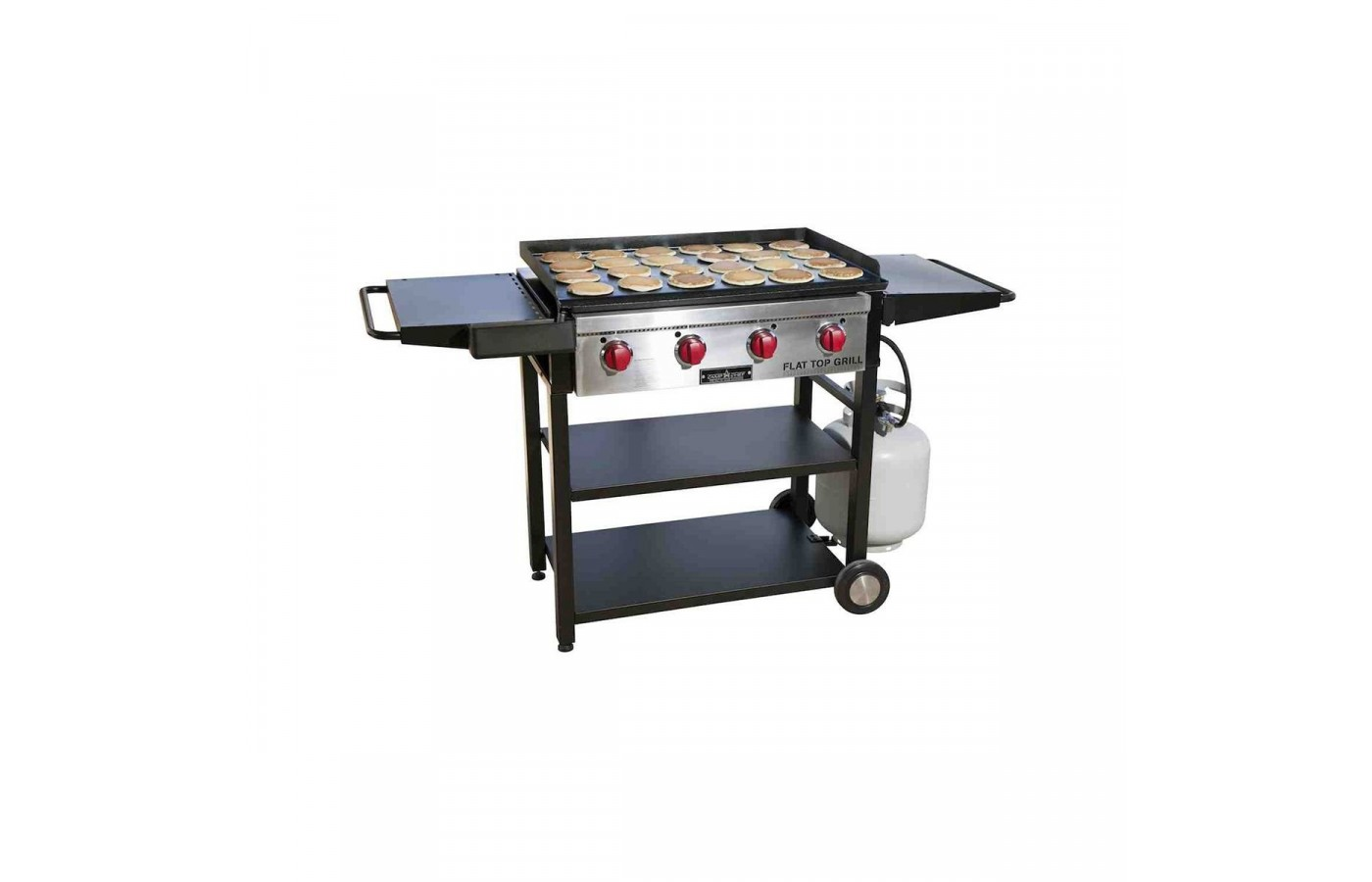 You will have an easy time using this grill.