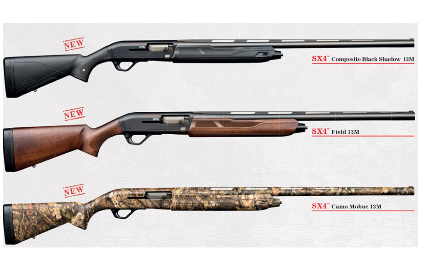 This shotgun is meant for hunting a variety of animals.