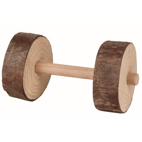 Trixie 2 X Wooden Dumbell Chew