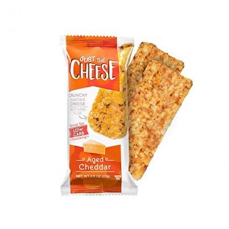 Just The Cheese Bars Crunchy Baked Low Carb
