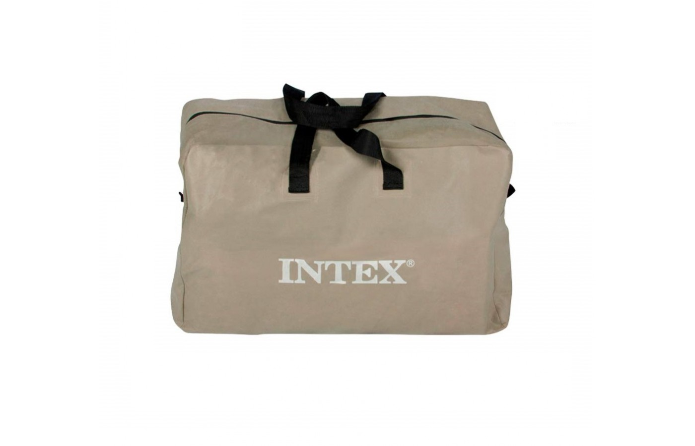 The Intex Challenger K2 Kayak easily folds up into a convenient carrying bag for easier transport.