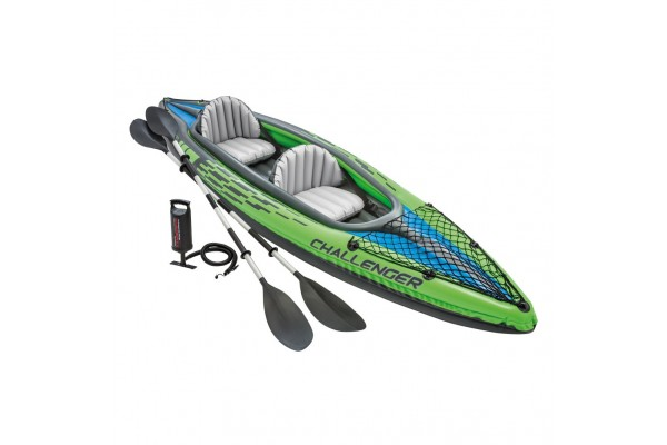 An in-depth review of the Intex Challenger K2 Kayak.