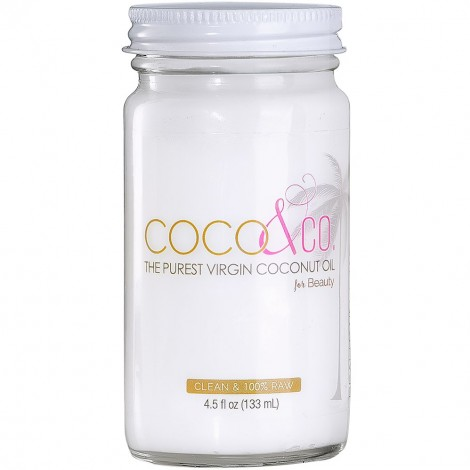 Pure Coconut Oil for Hair & Skin By COCO & CO