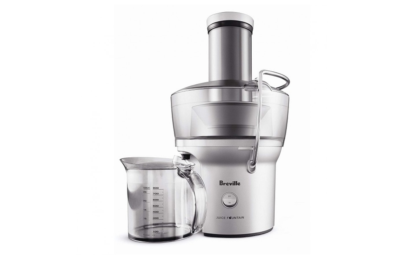 The Breville BJE200XL offers super fast juicing for those on the go.