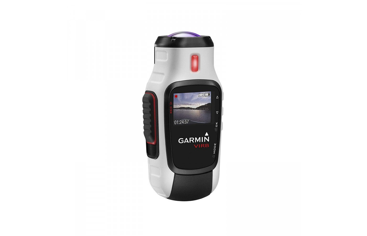 The Garmin Virb Elite has a digital Image Stabilization for a clearer picture.