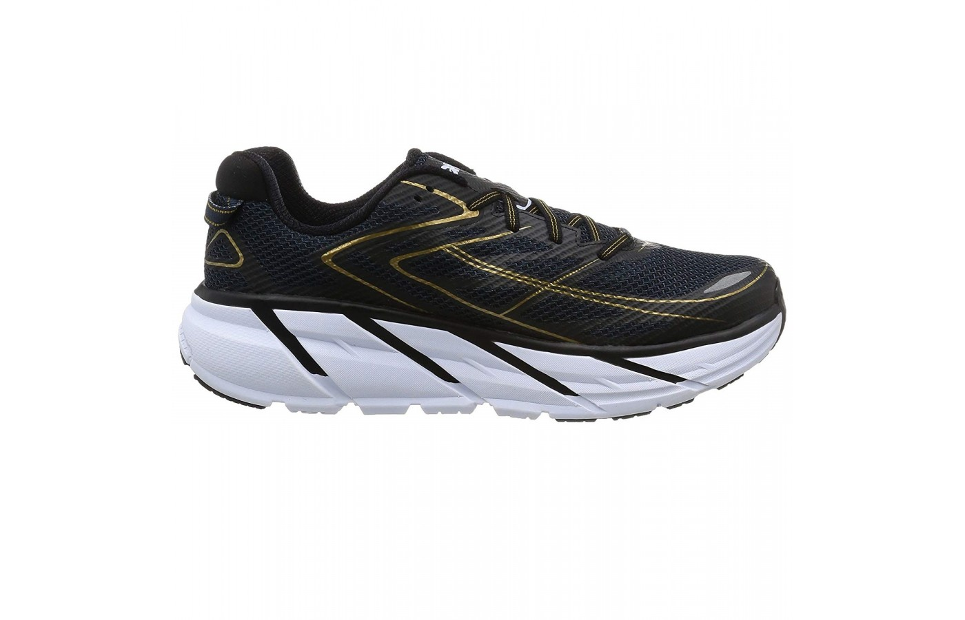 The Hoka Clifton 3 offers full length midsoles for more impact absorption and support.
