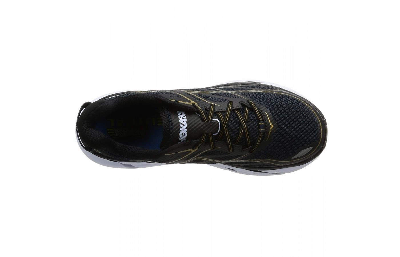 The Hoka Clifton 3 offers breathable mesh and synthetic uppers for better breathability