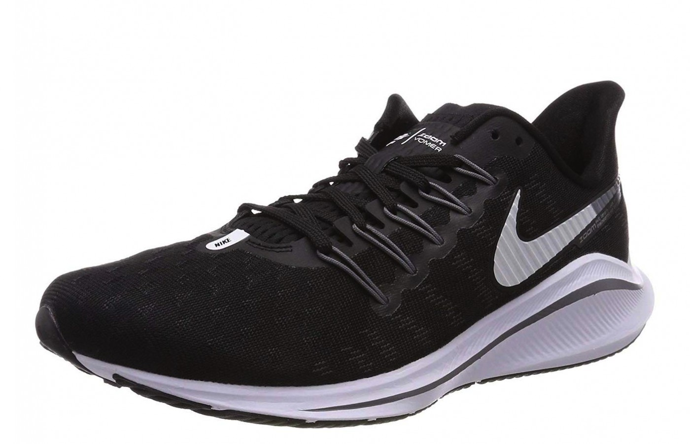 The Nike Zoom Vomero 14 offers a lightweight, comfortable design.