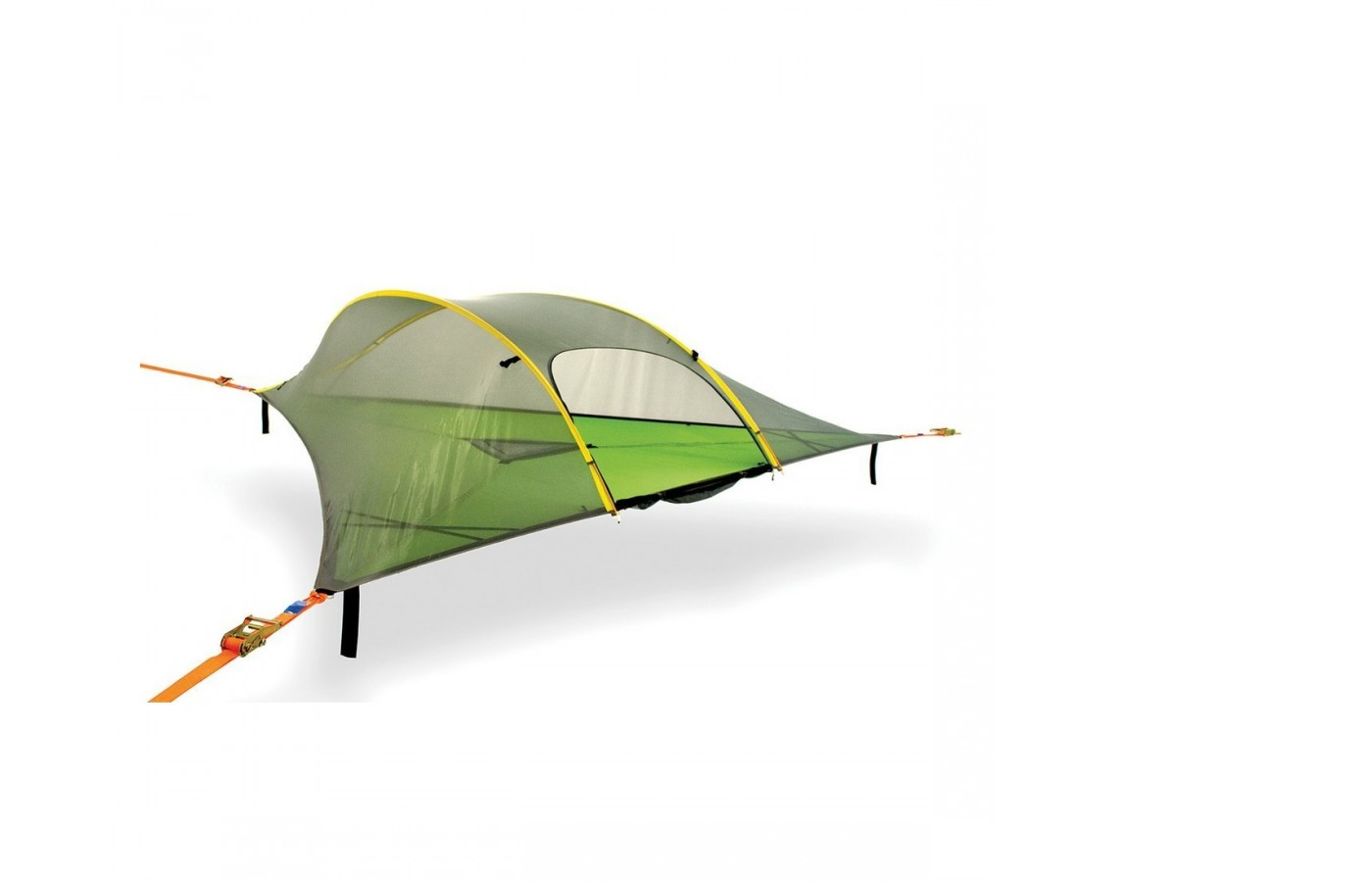 The Tentsile Stingray offers reinforced metal to protect the camper and tent form wear and tear.