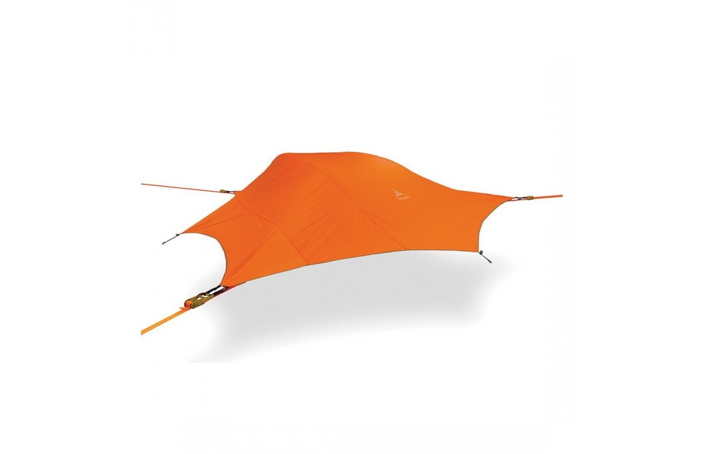 The Tentsile Stingray offers a full cover for protection from the rain.