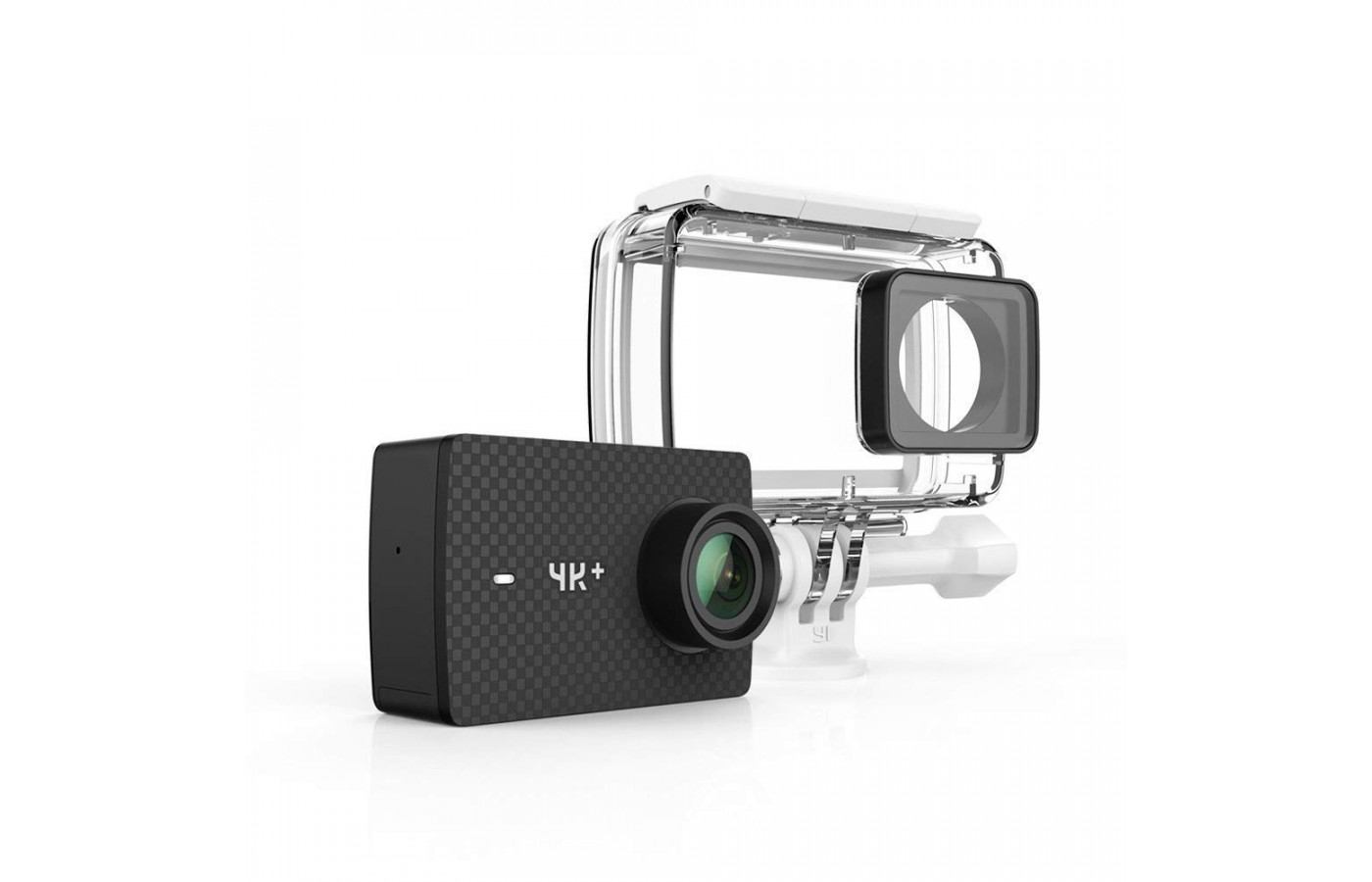 The YI 4K+ comes with a waterproof case for protection when in the snow.