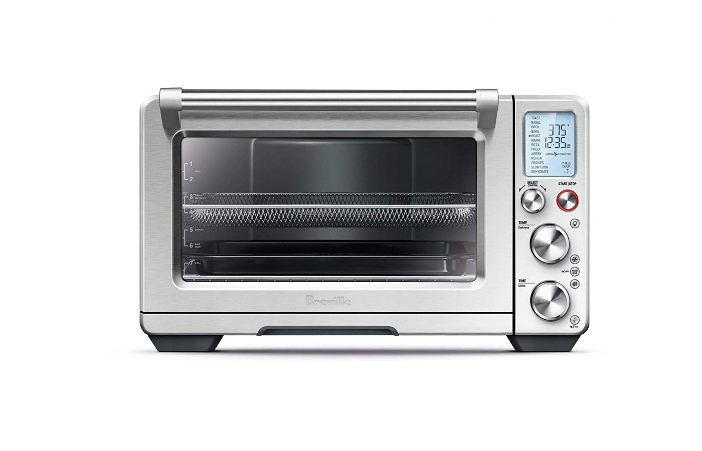 The oven has 13 cooking settings.