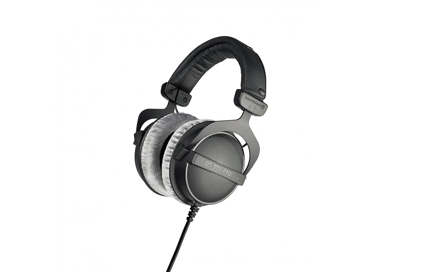 The headphones are made of high-quality materials.