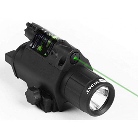 Tacticon Armament Red or Green Laser Flashlight