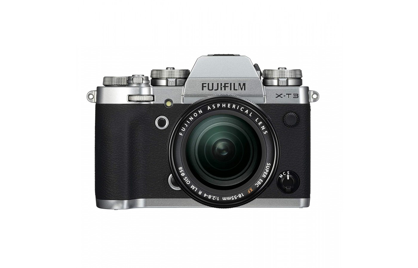 The Fujifilm X-T3 offers a X-Trans CMOS 4 sensor for better tracking of movements.