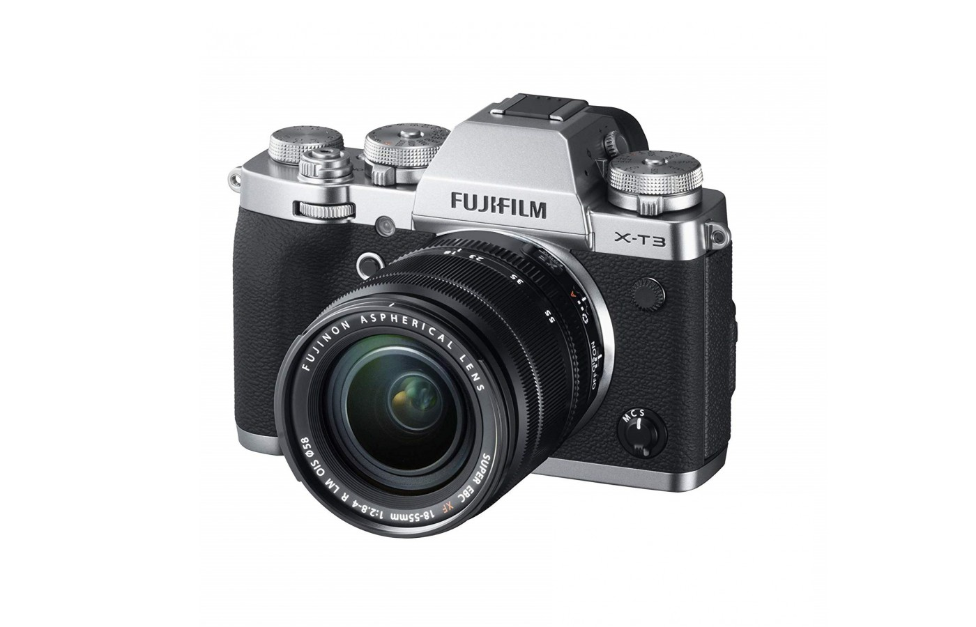 The Fujifilm X-T3 offers a new back-illuminated sensor for higher resolution.