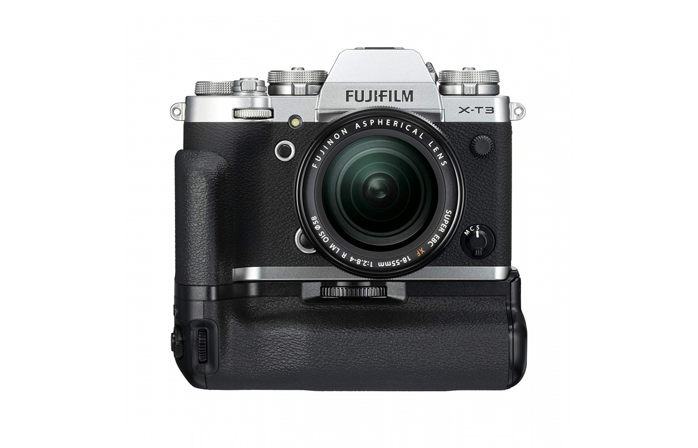 The Fujifilm X-T3 offers a  a 3.69-million-dot high resolution EVF for a clearer image and resolution.