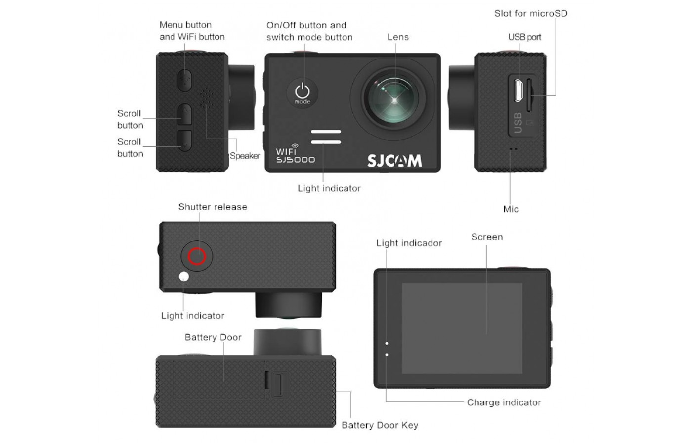 With an easy to use design you can get ready to take every photo and video you need.