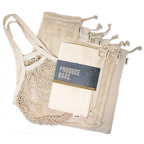 Gifts for vegans - Ecoture Reusable Produce Bags