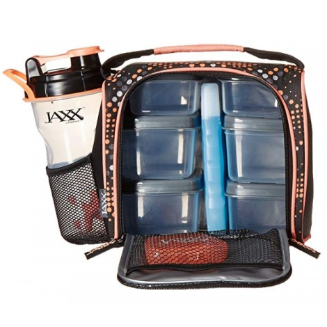 Fit and Fresh Jaxx FitPak Meal Prep Bags