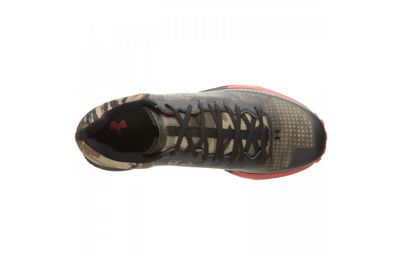 The Under Armour Horizon RTT offers a charged cushioning system that helps with impact reduction.