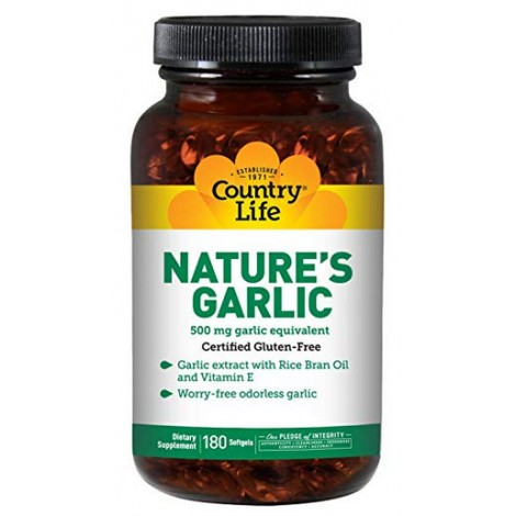 Country Life Garlic Supplements