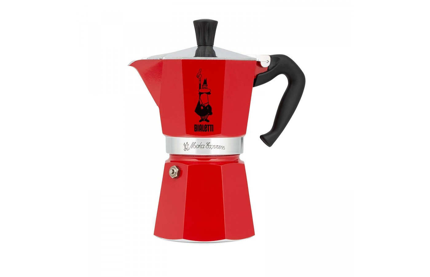 The Bialetti Moka Express makes 3 2-ounce cups for easier serving.