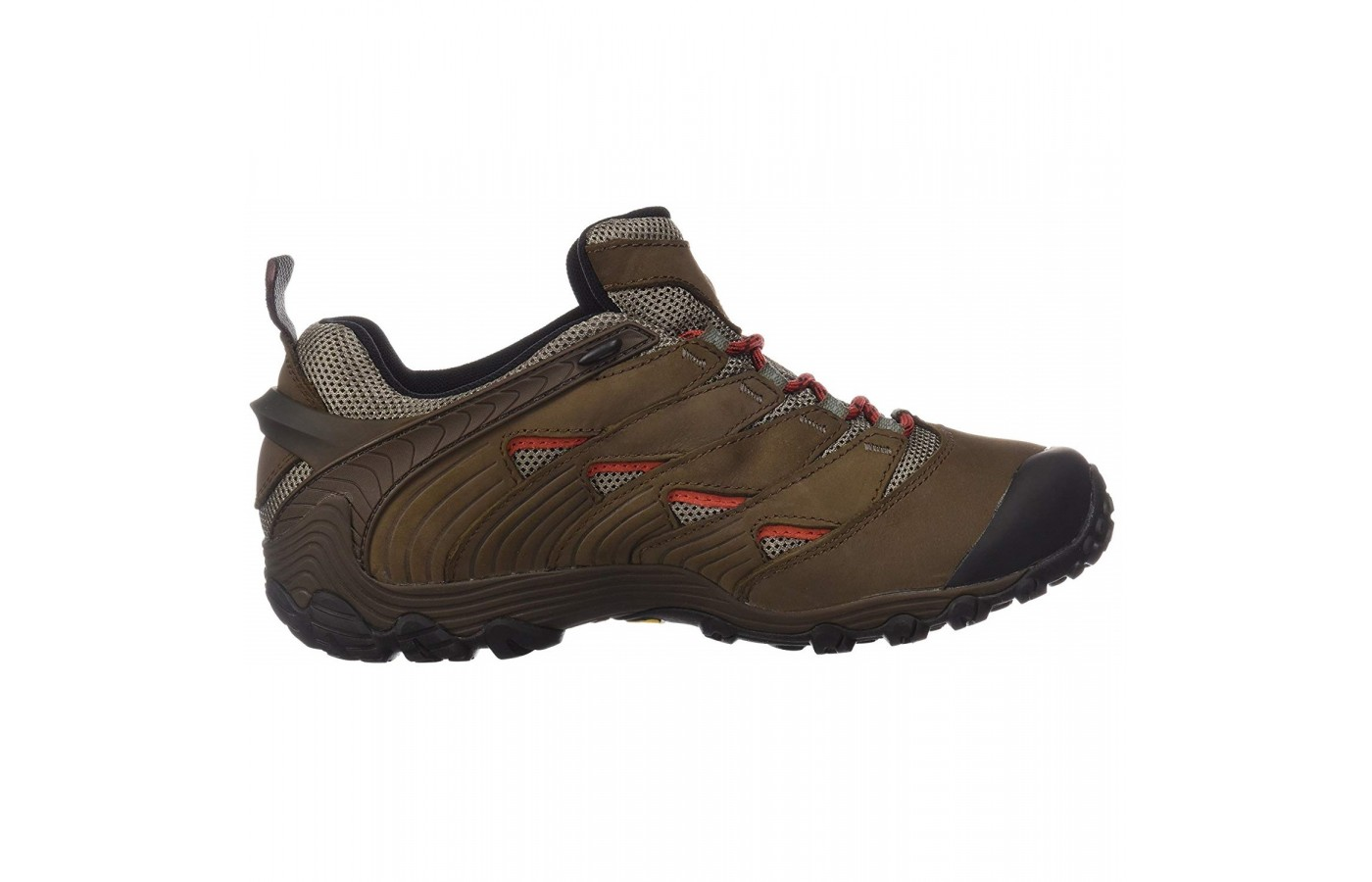 The Merrell Chameleon is lightweight in nature in order to avoid foot and leg fatigue.