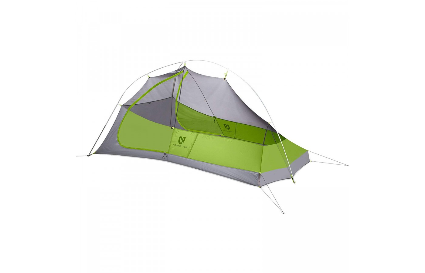 The Nemo Hornet 2P is ultra-lightweight making it ideal for backpacking.