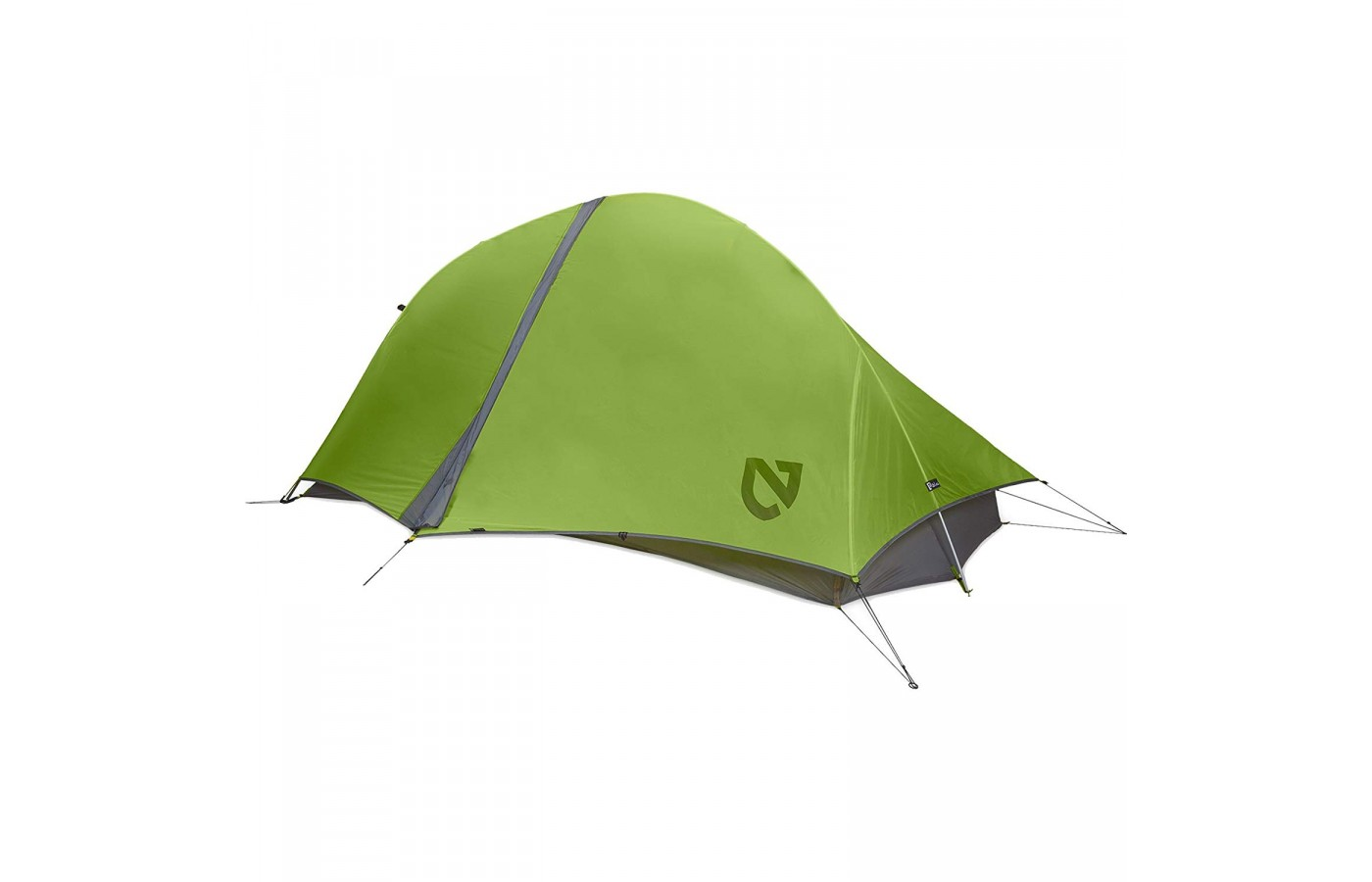 The Nemo Hornet 2P offers a rain cover for protection from moisture.