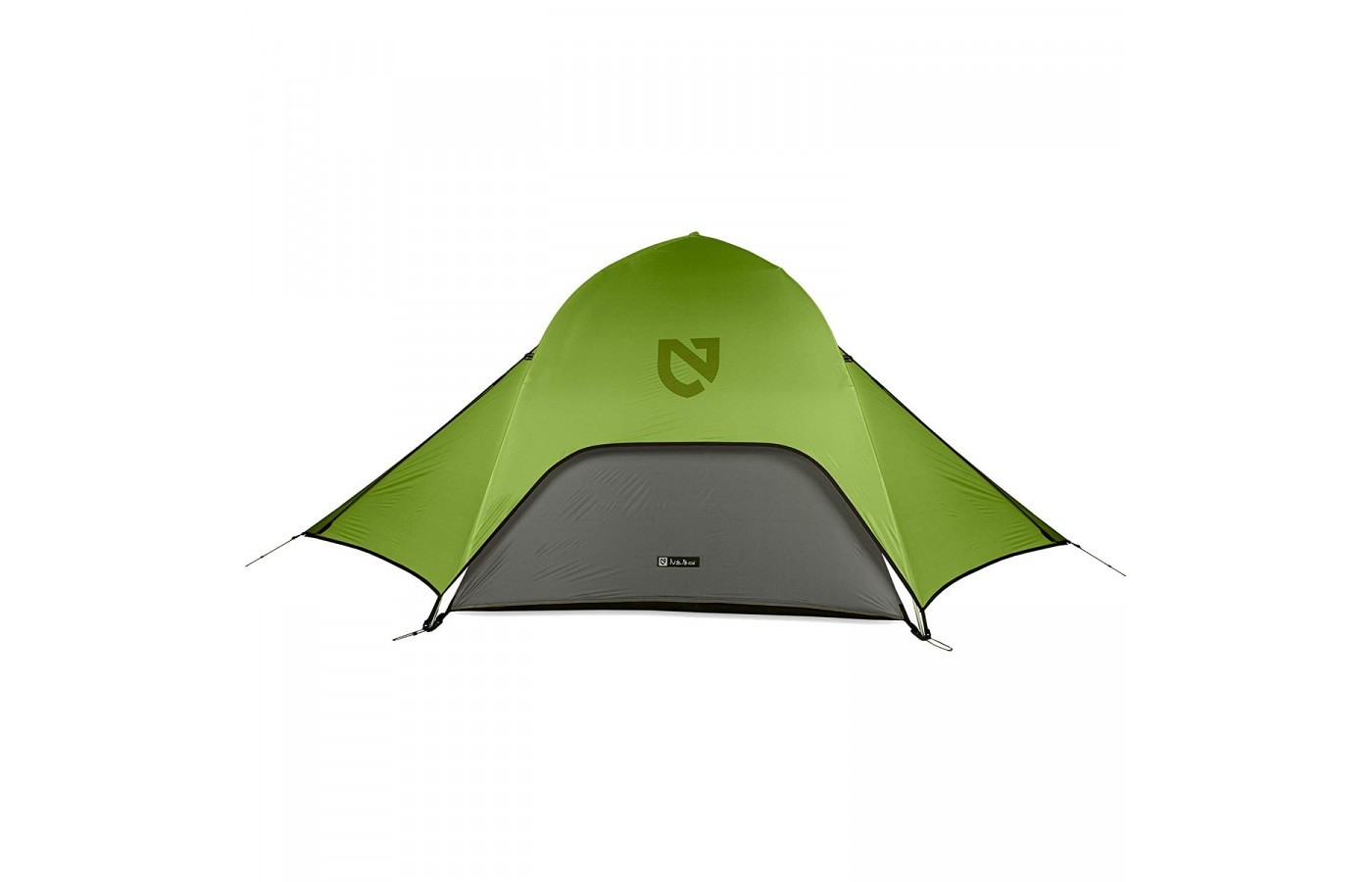 The Nemo Hornet 2P is a two person tent in order to lighten a groups load.