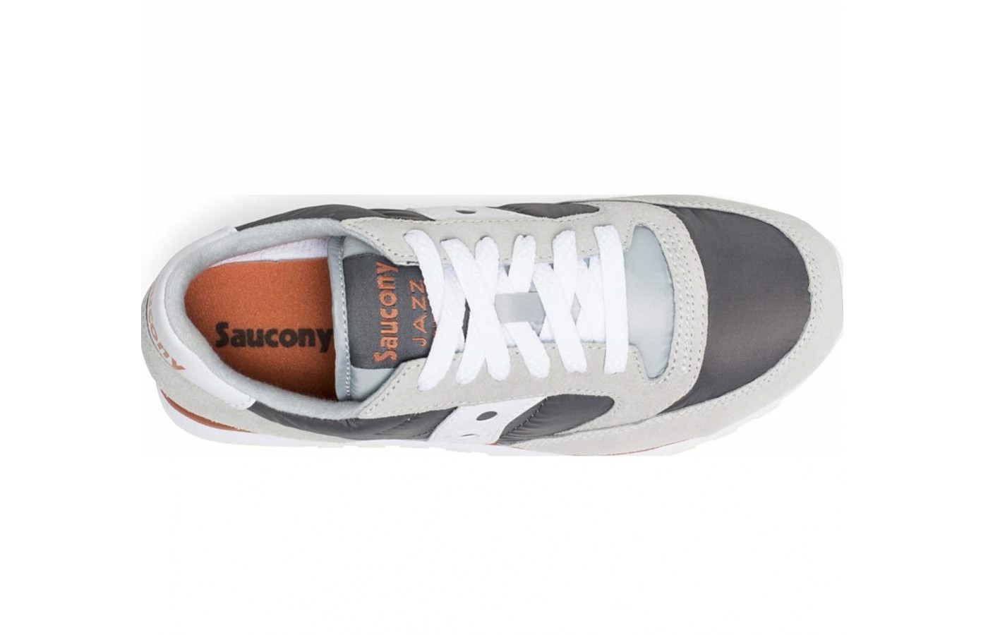 The Saucony Jazz Low Pro offers a padded collar for comfort and to keep debris out of the shoe.