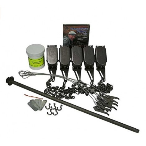 F&T Dog Proof Raccoon Trapping Starter Kit Bundle