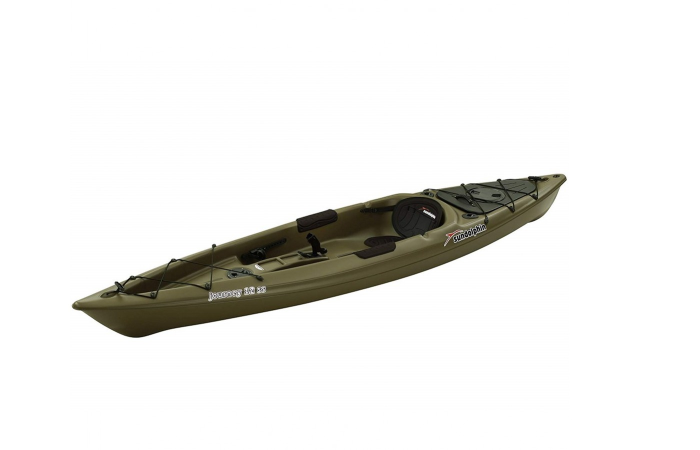 The Sun Dolphin Journey 10 SS offers a lightweight design for easier transportation.