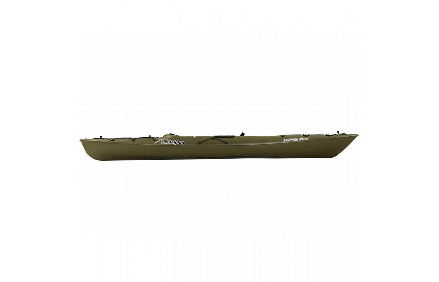 The Sun Dolphin Journey 10 SS offers UV-stabilized Fortiflex for protection and durability.